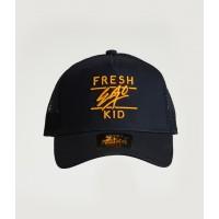 Fresh Ego Kid Navy / Gold Mesh Trucker