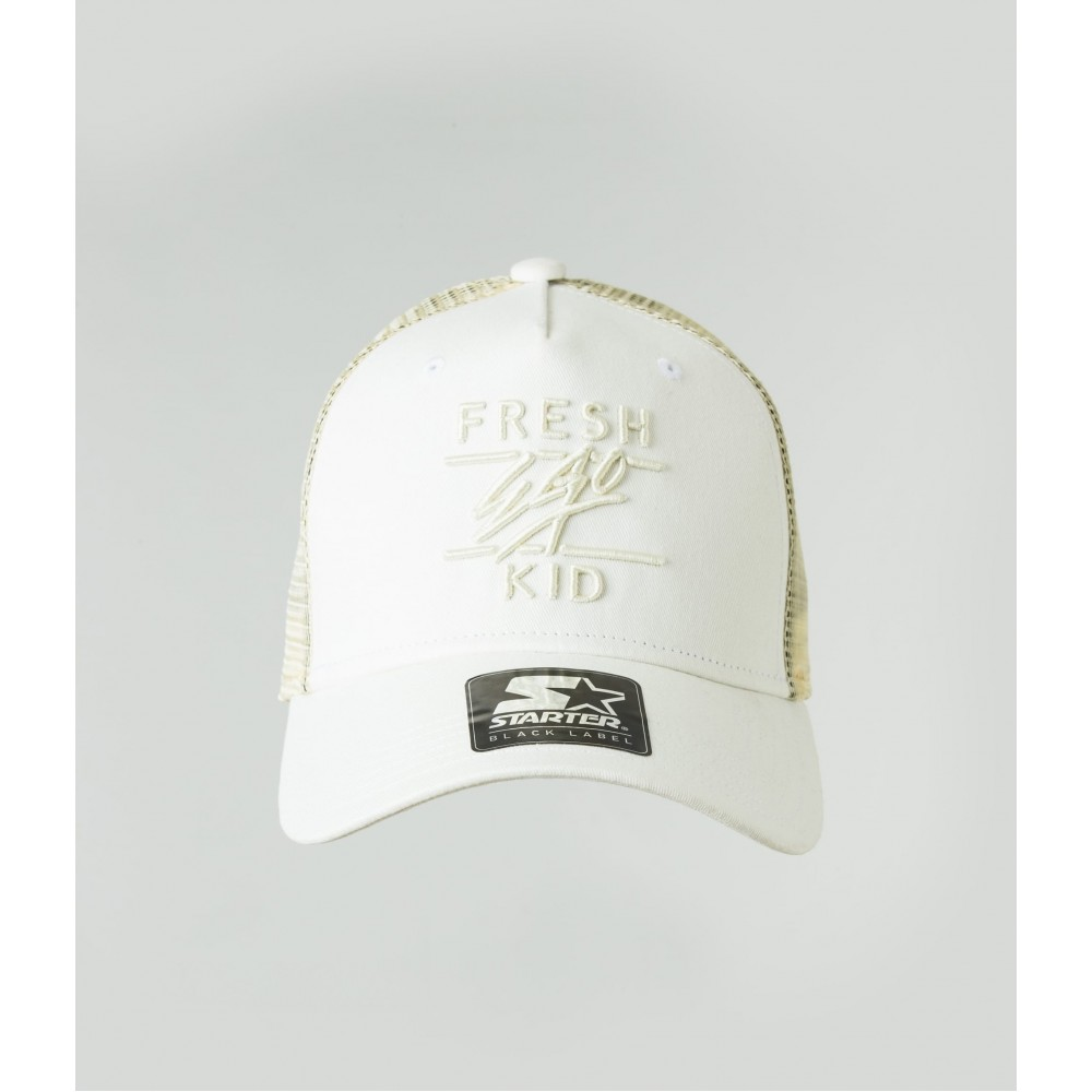 Fresh Ego Kid Off White Mesh Trucker