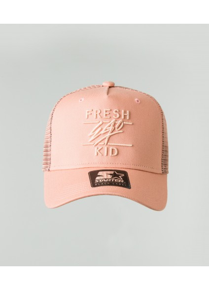 Fresh Ego Kid Peach Mesh Trucker