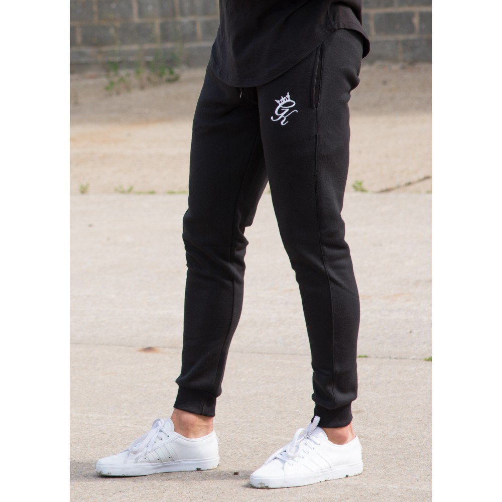 Gym King Tracksuit Bottoms - Black