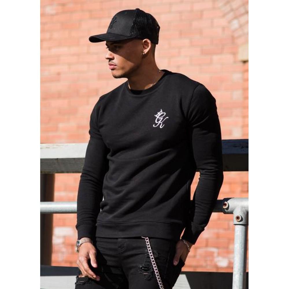 Gym King Crew Sweatshirt - Black