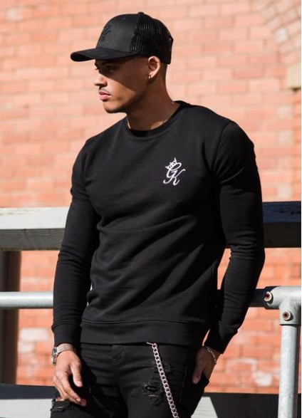 Gym King Crew Sweatshirt - Black