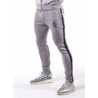 Gym King Tapered Poly Tracksuit Bottoms - Sleet