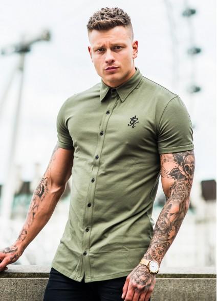 Gym King Shortsleeve Jersey Shirt – Olive