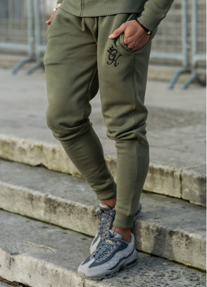 Gym King Tracksuit Bottoms – Burnt Olive