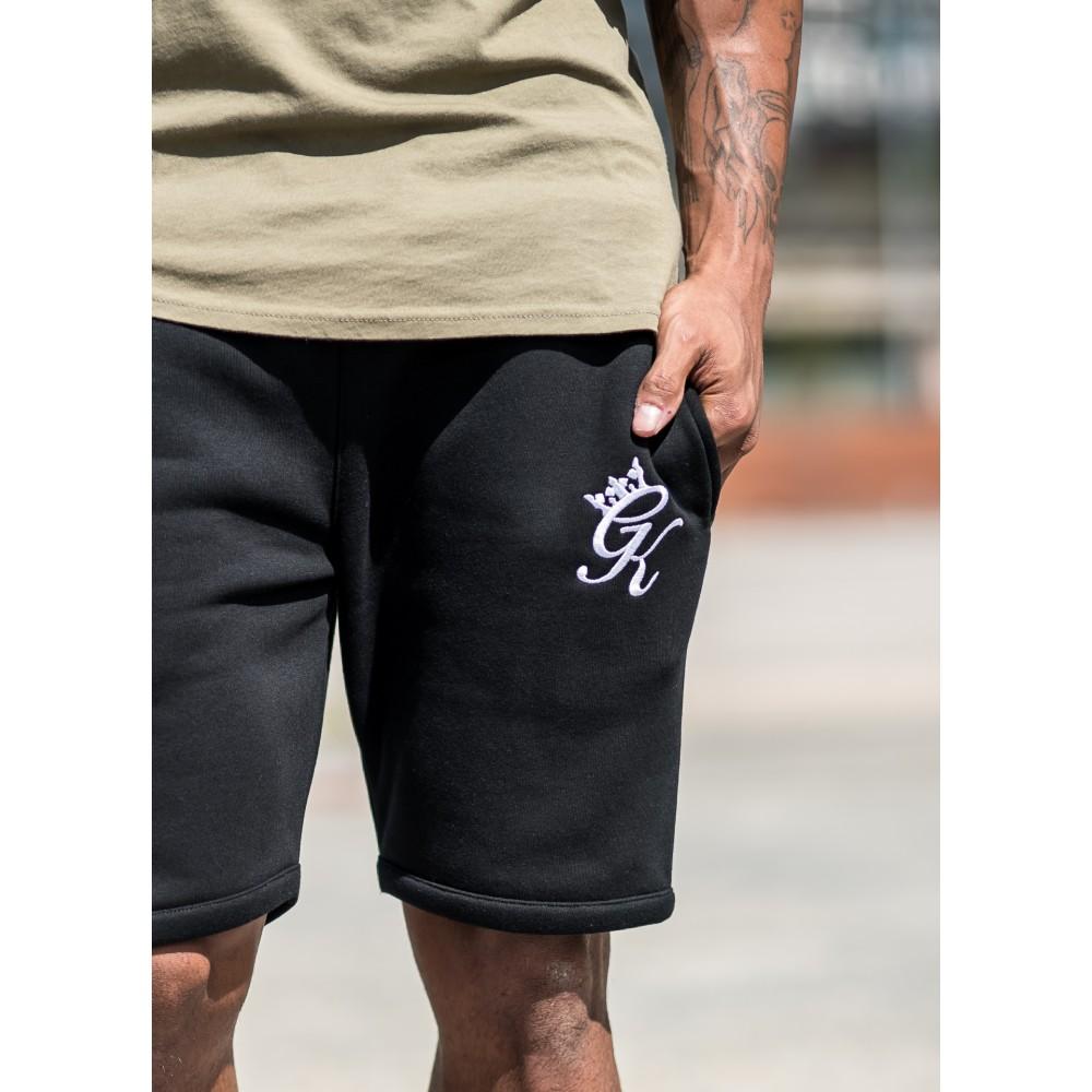 Gym King Fleece Shorts - Black