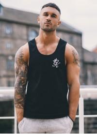 Gym King Tank Vest – Black