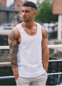 Gym King Tank Vest – White
