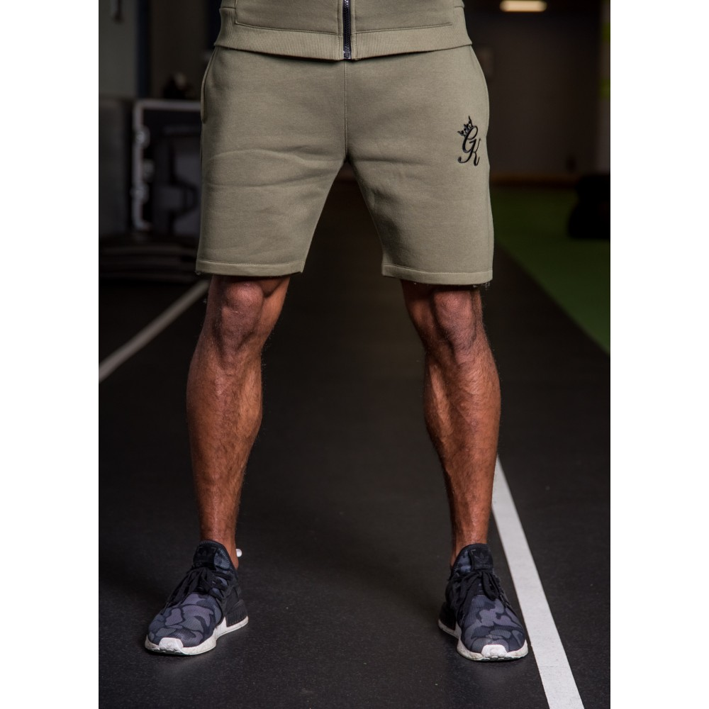 Gym King Fleece Shorts – Burnt Olive