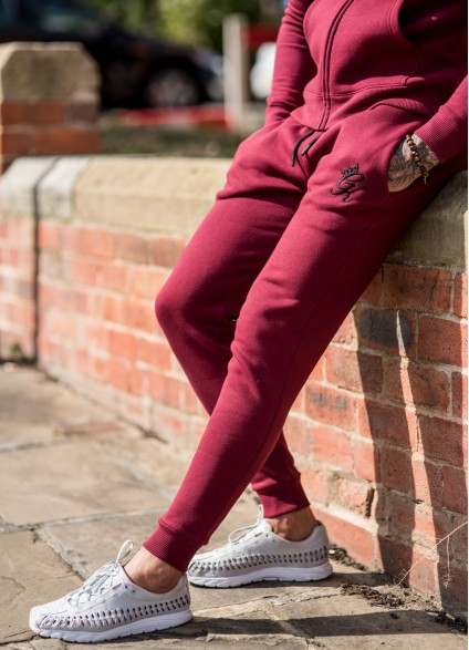 Gym King Tracksuit Bottoms – Cordovan