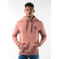 Gym King Pullover Hoodie - Dusted Peach