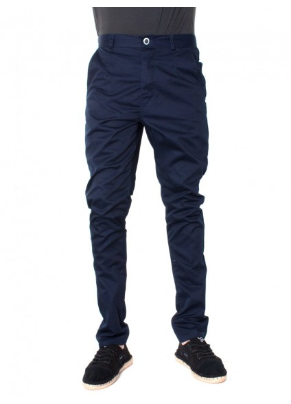 Humor Dean Dress Blue Chino