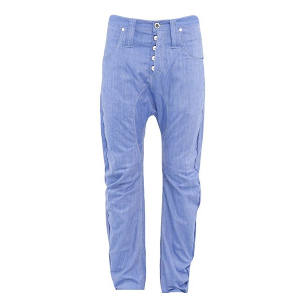 Humor Zanka Drop Crotch Light Blue Jeans