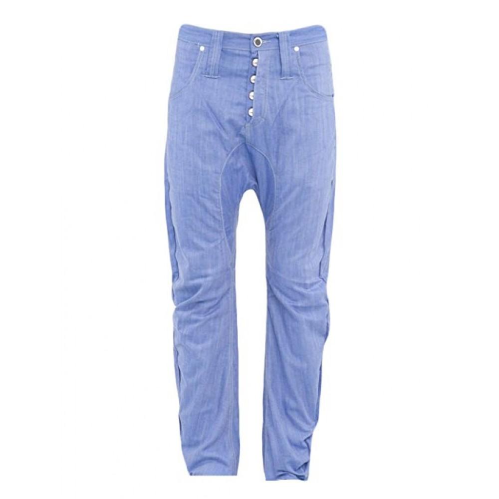 Humor Zanka Drop Crotch Light Blue Jeans