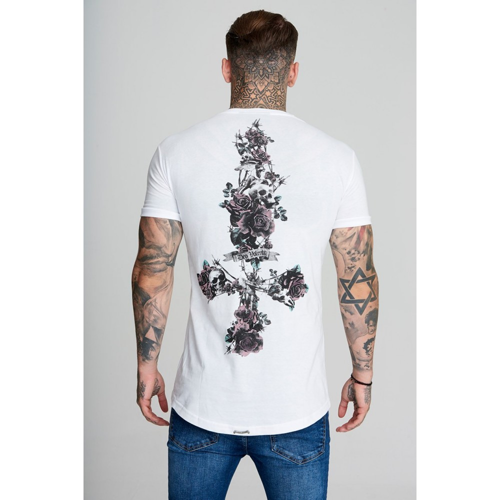 Judas Sinned Rose Cross T-Shirt