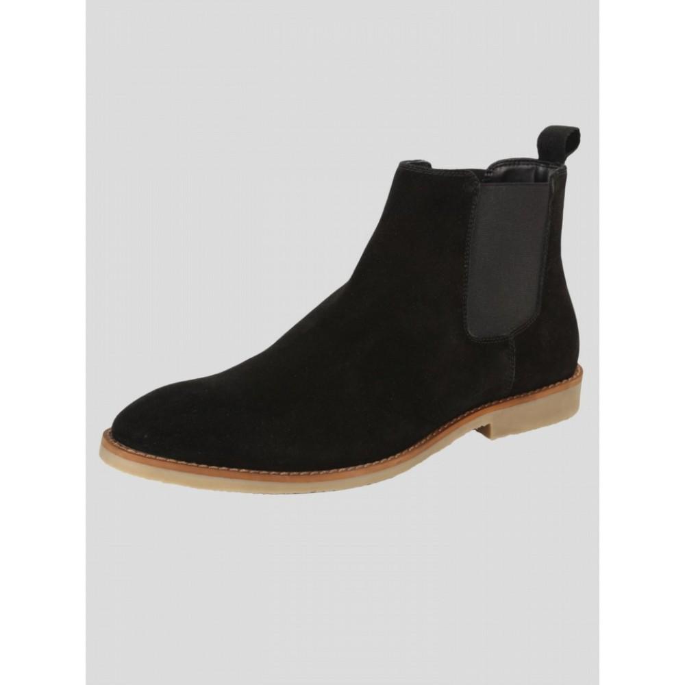 Luke 1977 Biggar Chelsea Boot - All Black