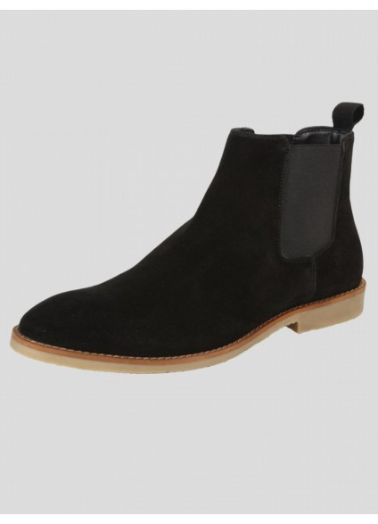 Luke 1977 Biggar Chelsea Boot - All Black