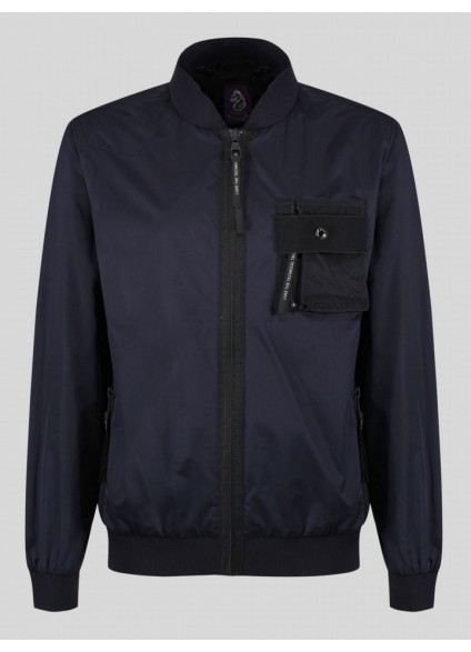 Luke 1977 Springer Patch Pocket Jacket - Navy