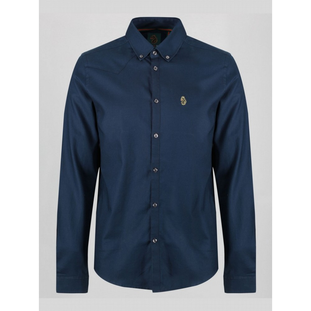 Luke 1977 Cuffys Call Shirt - Navy