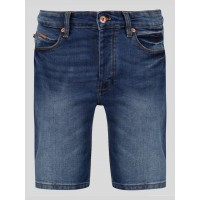 Luke 1977 Vacuum Packed Indigo Wash Denim Shorts