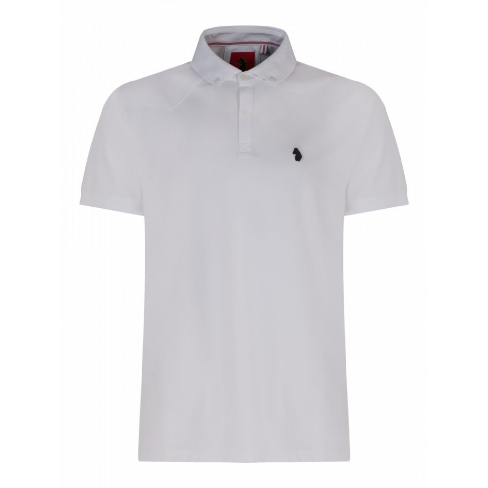 Luke 1977 Billiam White Polo Shirt