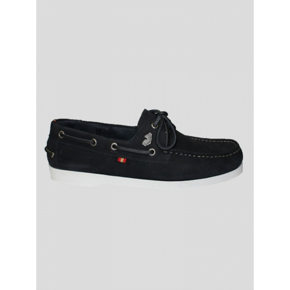 Luke 1977 Frigates Dark Navy Boat Shoes