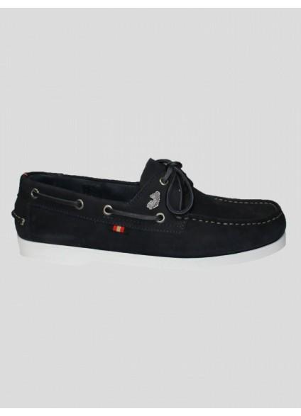 Luke 1977 Frigates Dark Navy Boat Shoes