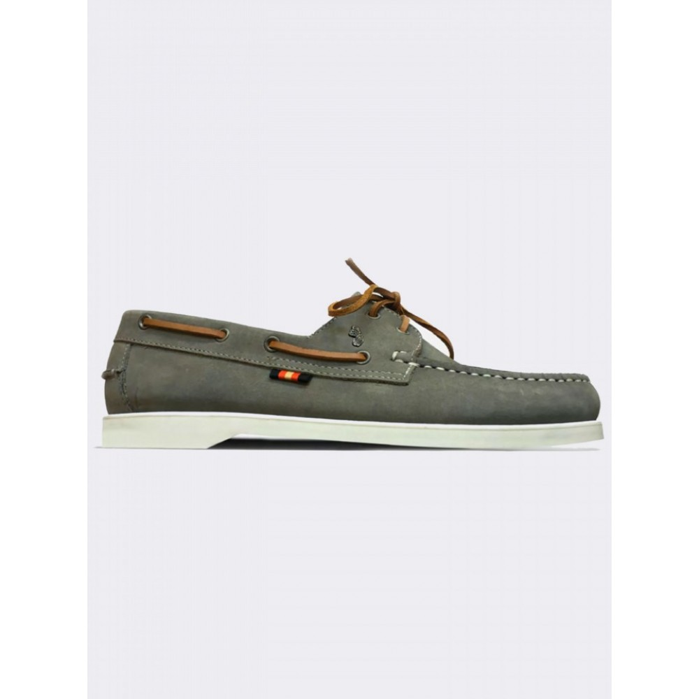 Luke 1977 Frigates Silver Grey Boat Shoes