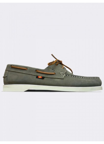 Luke 1977 Frigate Boat Shoes - Silver Grey