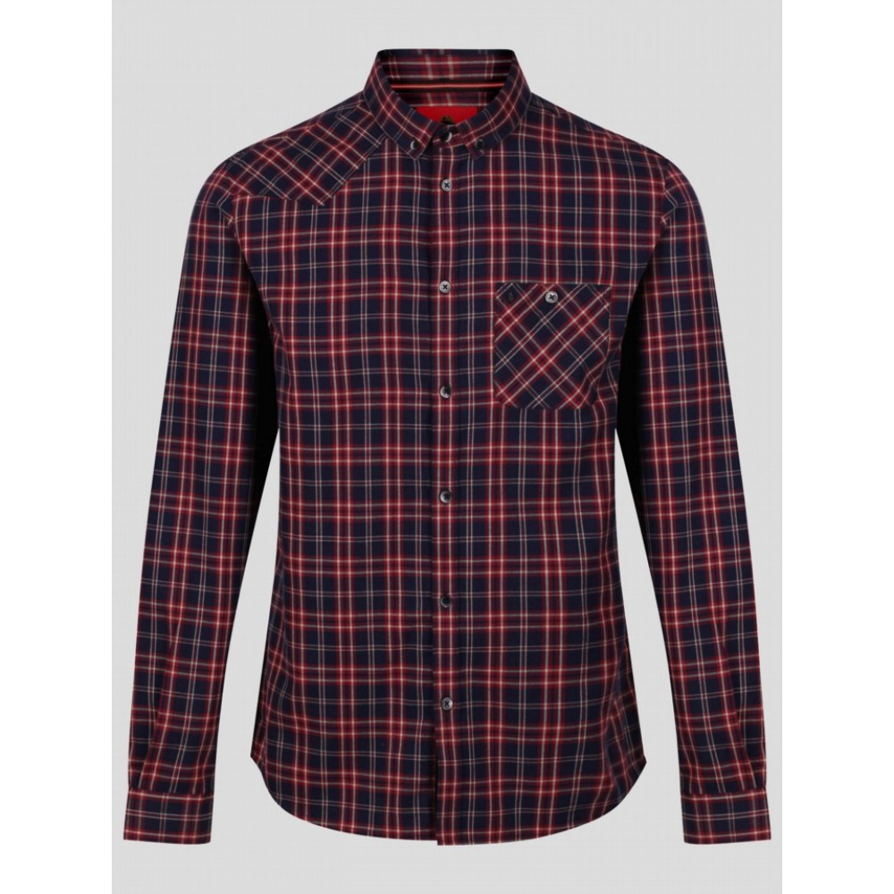 Luke 1977 Heyday Patch Pocket Check Shirt