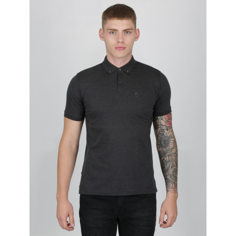 Luke 1977 Stan Pooles Polo - Mrl Charcoal