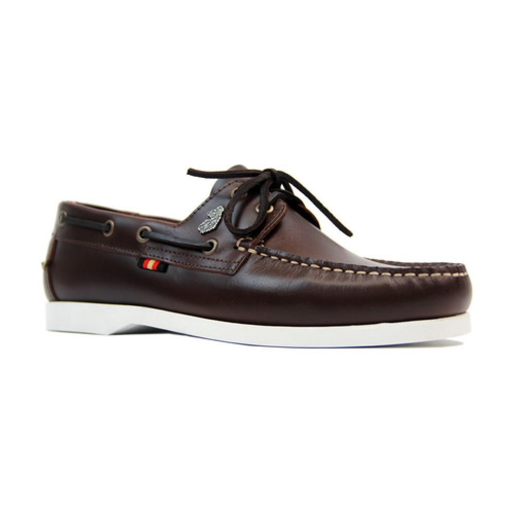 Luke 1977 Frigate Boat Shoes - Brown Leather
