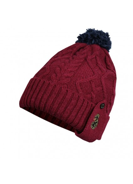 Luke 1977 Birdys Bobble Hat - Red