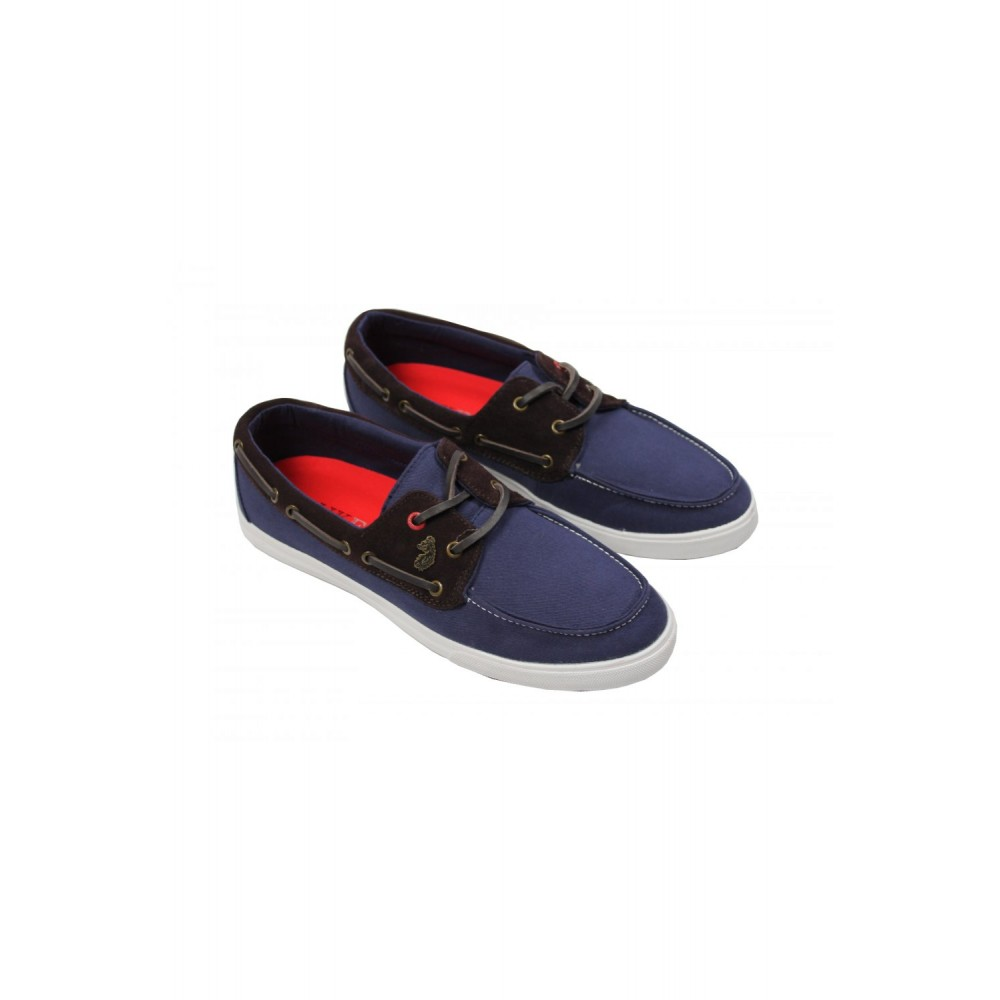 Luke 1977 Dawson Boat Shoes - Dark Navy