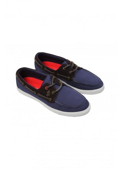 Luke 1977 Dawson Dark Navy Boat Shoes
