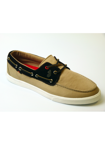 Luke 1977 Dawson Boat Shoes - Military Stone