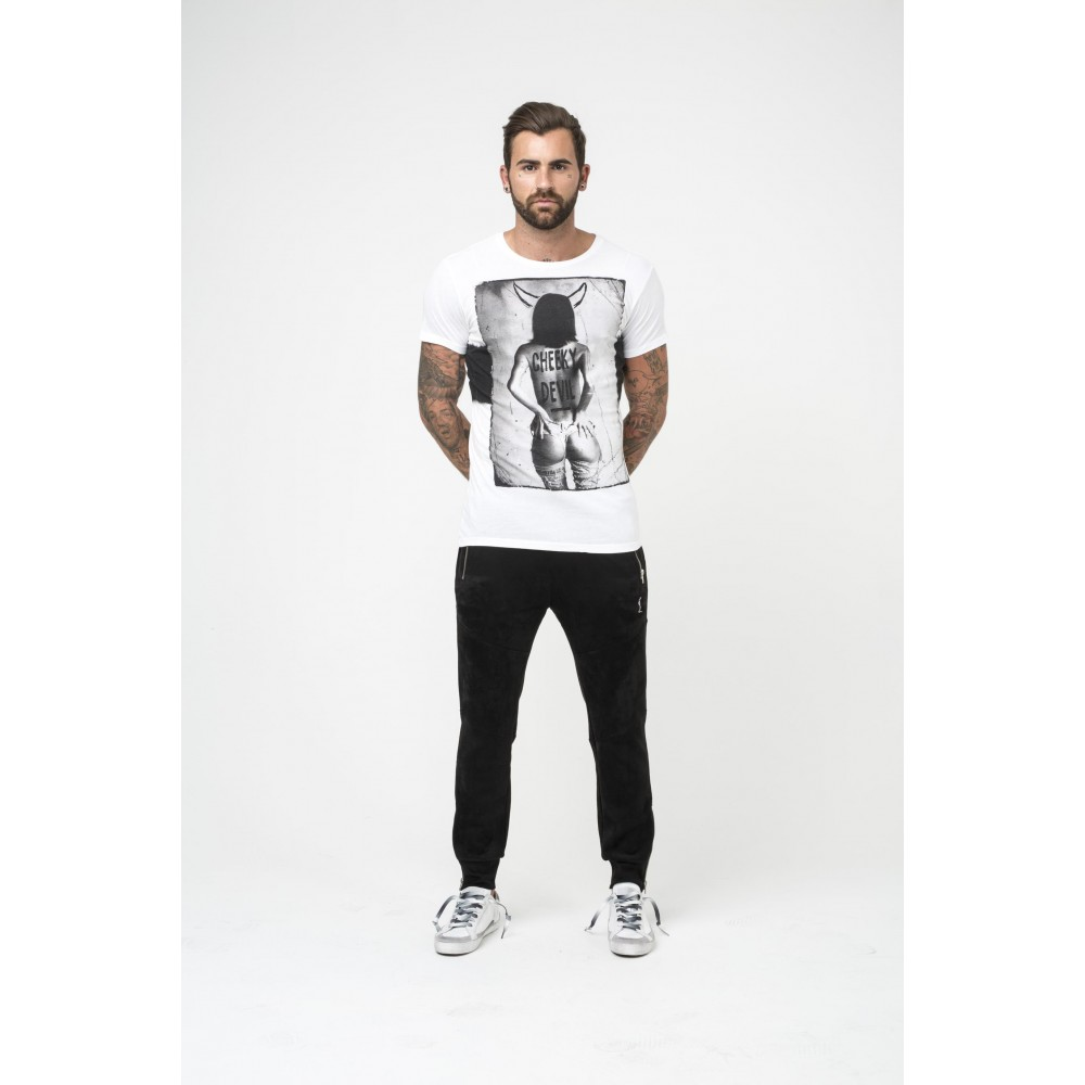 Religion Cheeky Devil White T-Shirt
