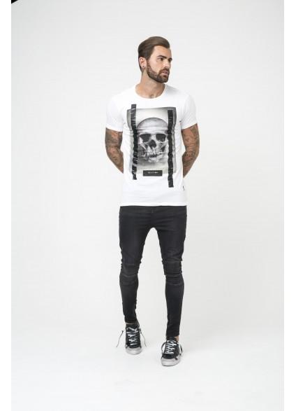 Religion Skull White T-Shirt