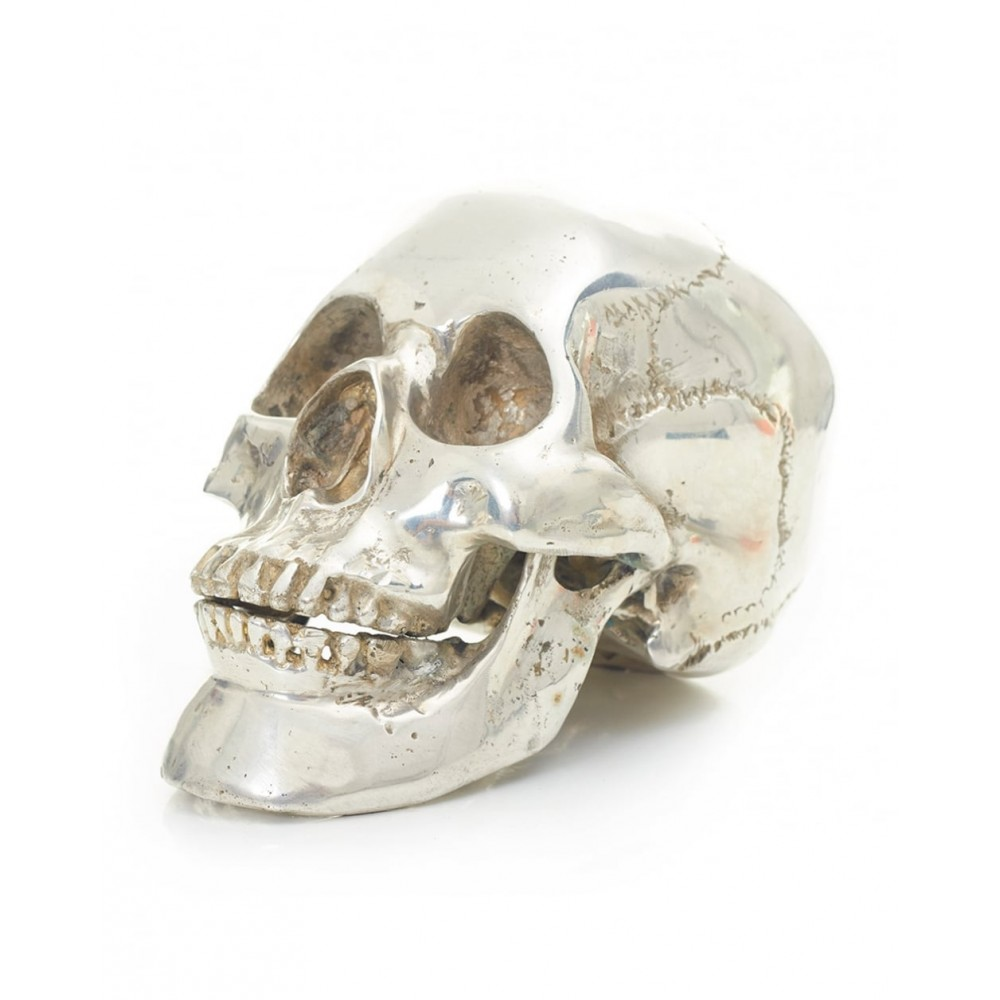 Religion Silver Skull - Size Medium