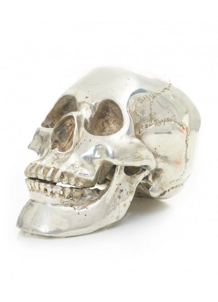 Religion Silver Skull - Size Small