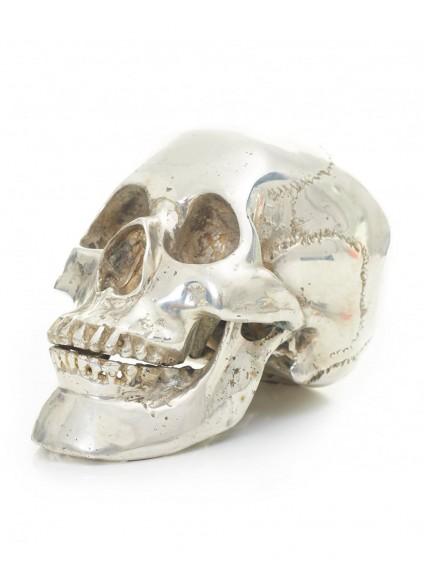 Religion Silver Skull - Size Extra Small