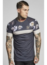 SikSilk  S/S Curved Hem Sports Tee – Antique Rose