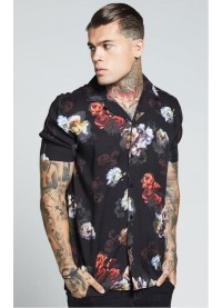 SikSilk  S/S Resort Shirt – Antique Rose