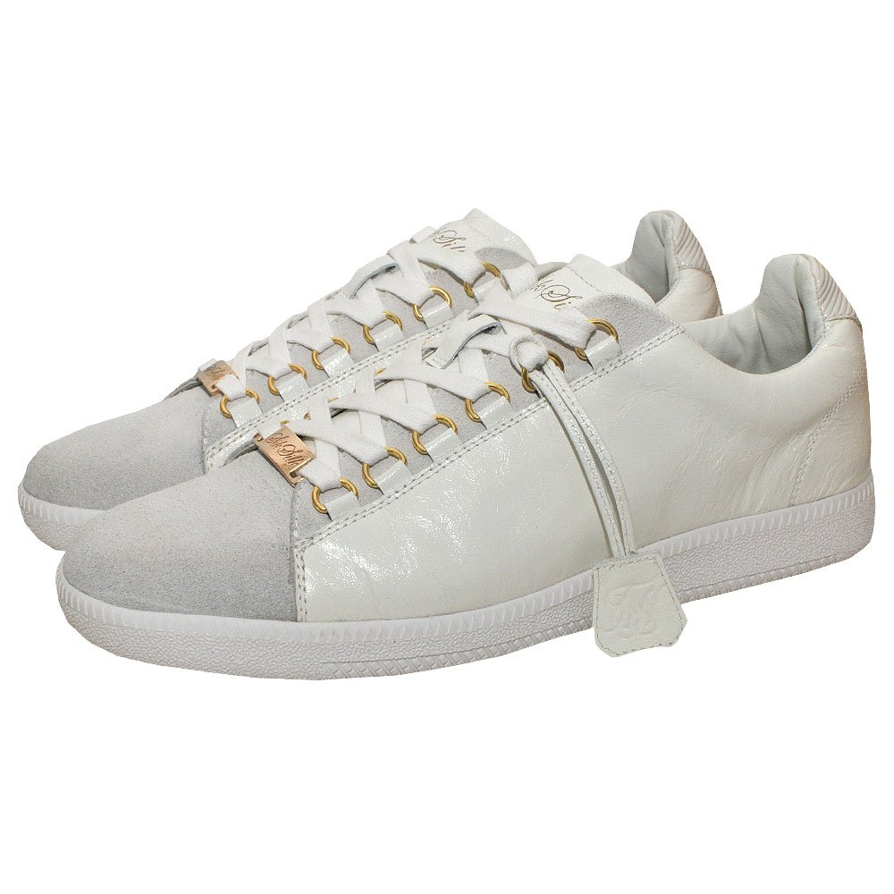 SikSilk Lux Low Trainers - White