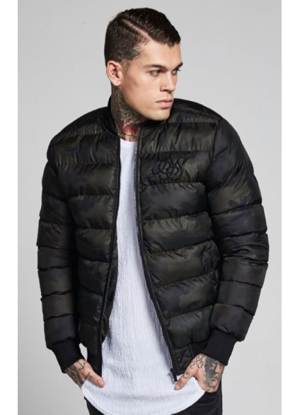 SikSilk Aero Bubble Bomber – Camo