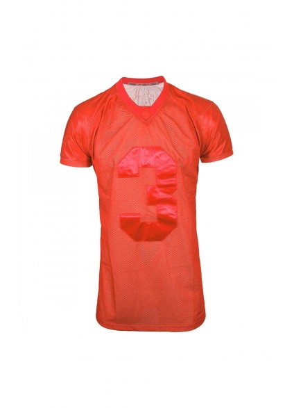 SikSilk American football Jersey - Red
