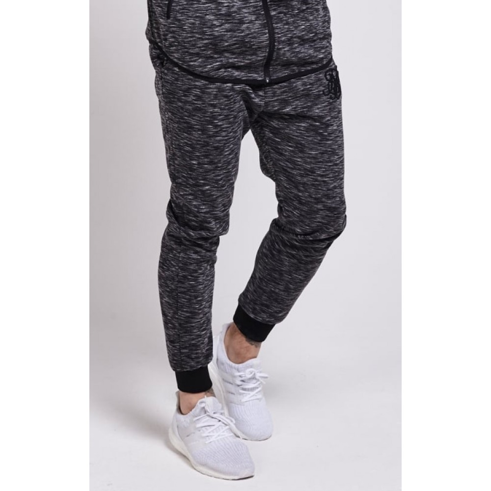 SikSilk Apex Track Pant – Dark Grey