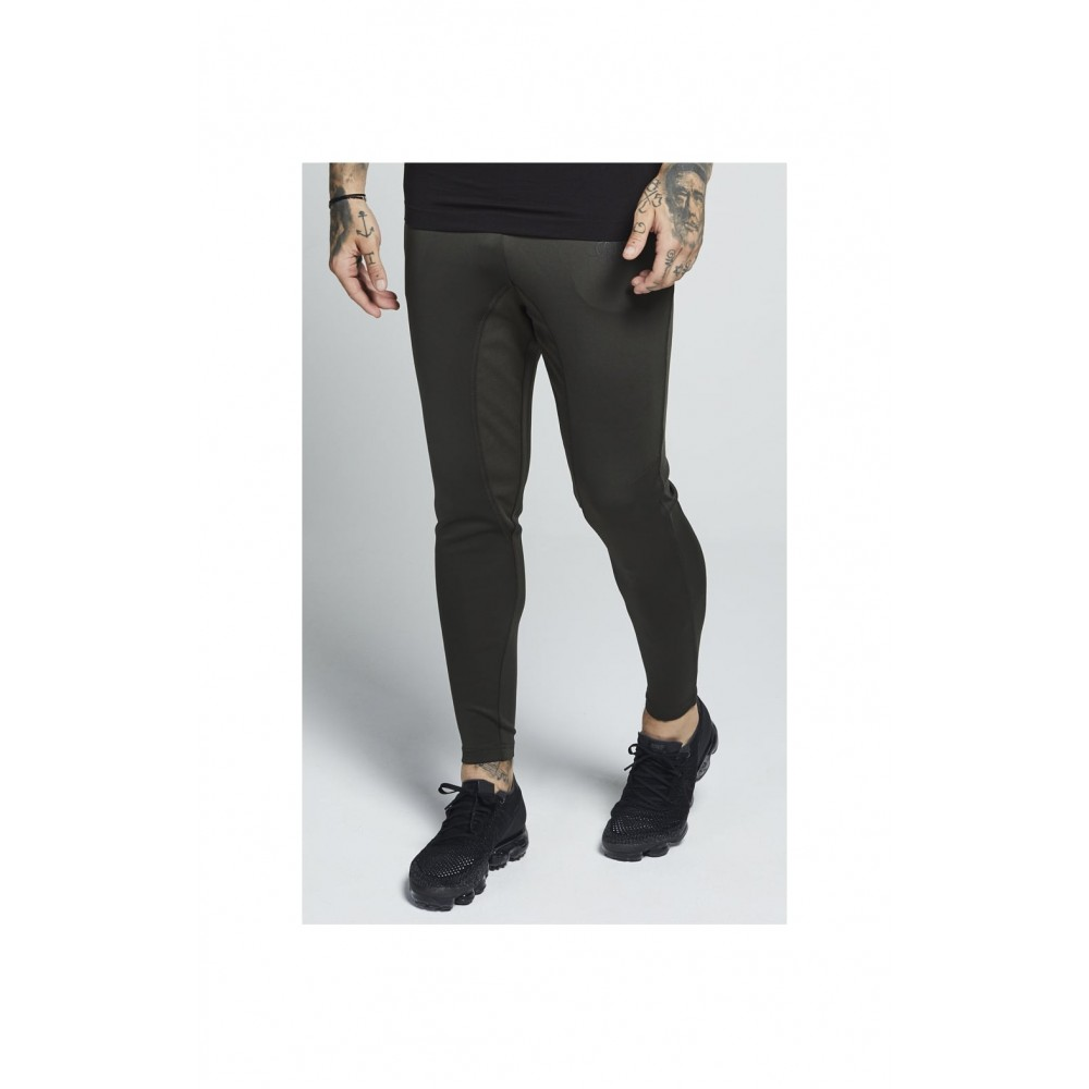 SikSilk Athlete Track Pants – Khaki