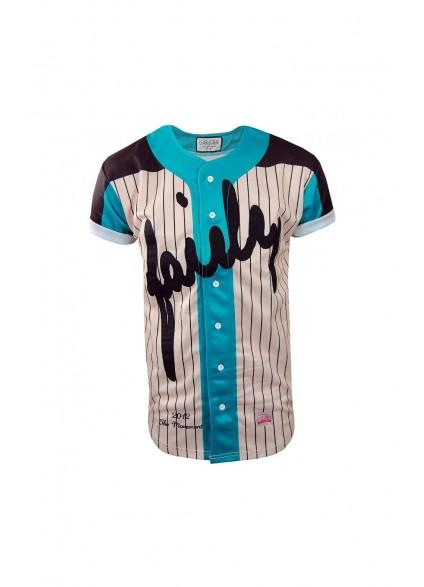 SikSilk Classic Jade Baseball Jersey