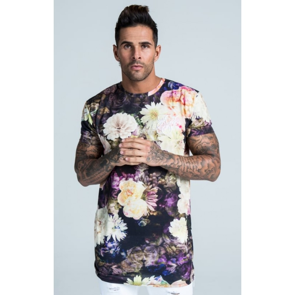 Sik Silk Regal Floral Tee